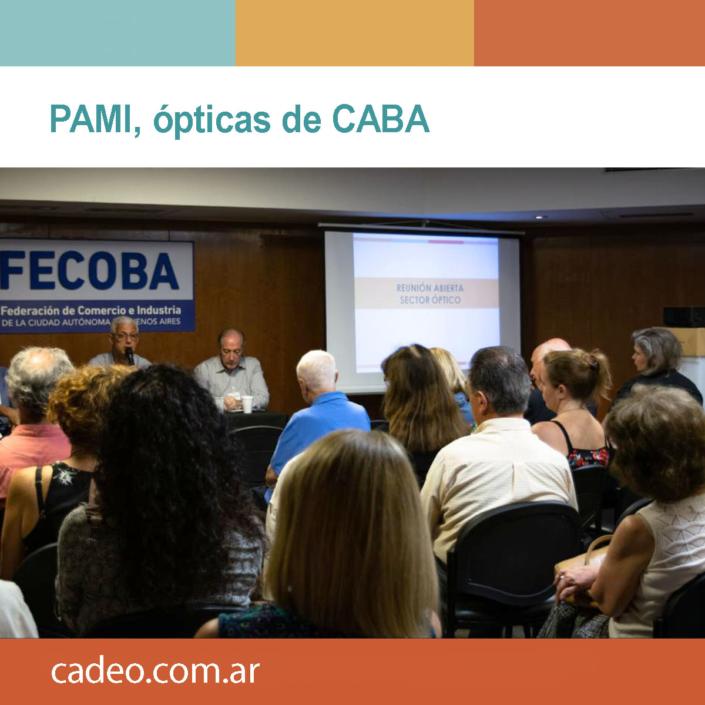 PAMI, ópticas de CABA